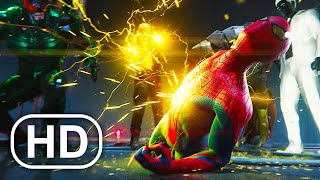 The Amazing Spider-Man Vs Sinister Six Fight Scene 4K ULTRA HD - Spider-Man Remastered PS5