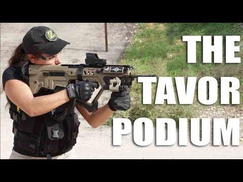 Tavor Upgrades - The TAR Podium Bi-Pod By FAB Defense