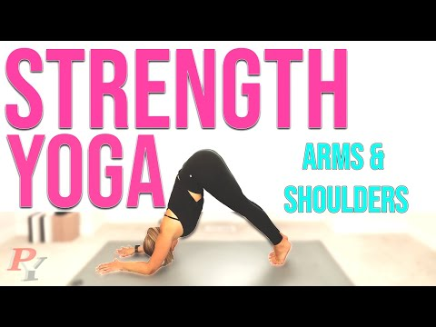 Yoga for Strength | Weight Loss & Toning | Shoulders & Arms
