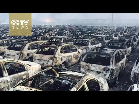 Tianjin Explosion: The second explosion was equal to 21 tons of TNT