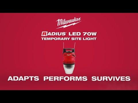 Milwaukee® RADIUS™ 70W Temporary Site Light