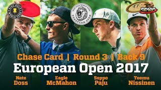 European Open 2017 Chase Card Round 3 Back 9