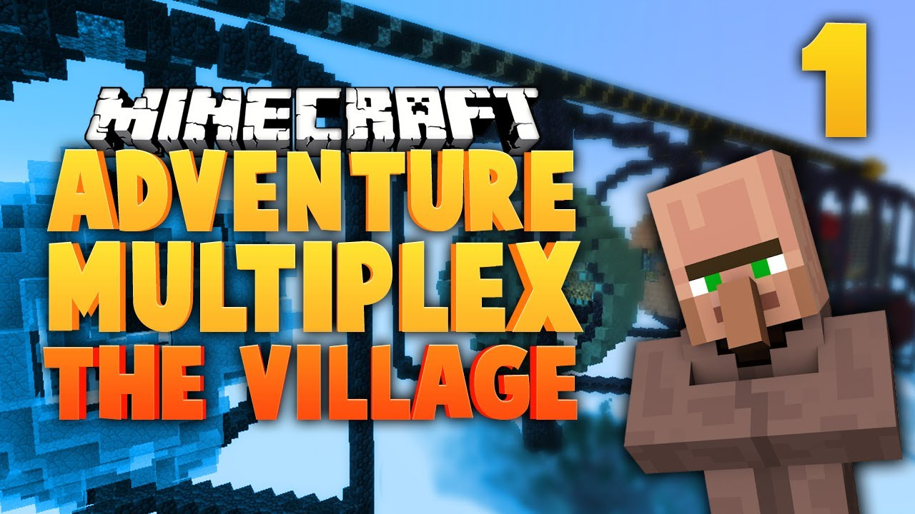 Minecraft adventure multiplex the village ep1 youtube sciox Images