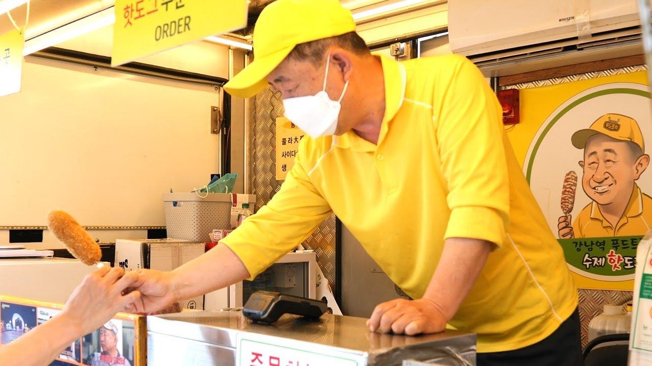 백종원이 유일하게 존경하는 | 푸드트럭 핫도그 할아버지 | 방송 3년 후 최신 근황 | Grandpa's Hotdog in FoodTruck | Korean Street Food