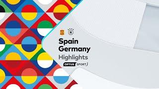 HIGHLIGHTS: Spain v Germany | UEFA Nations League