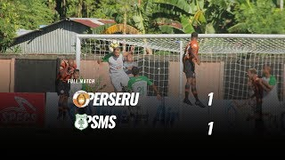 [Full Match] Perseru Serui vs PSMS Medan, 16 September 2018