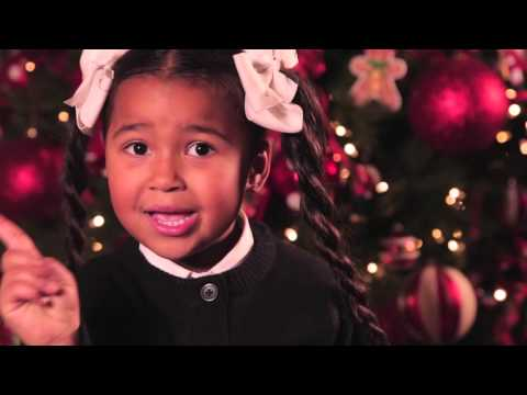 6 yr old Heavenly Joy spreads joy to others for Christmas