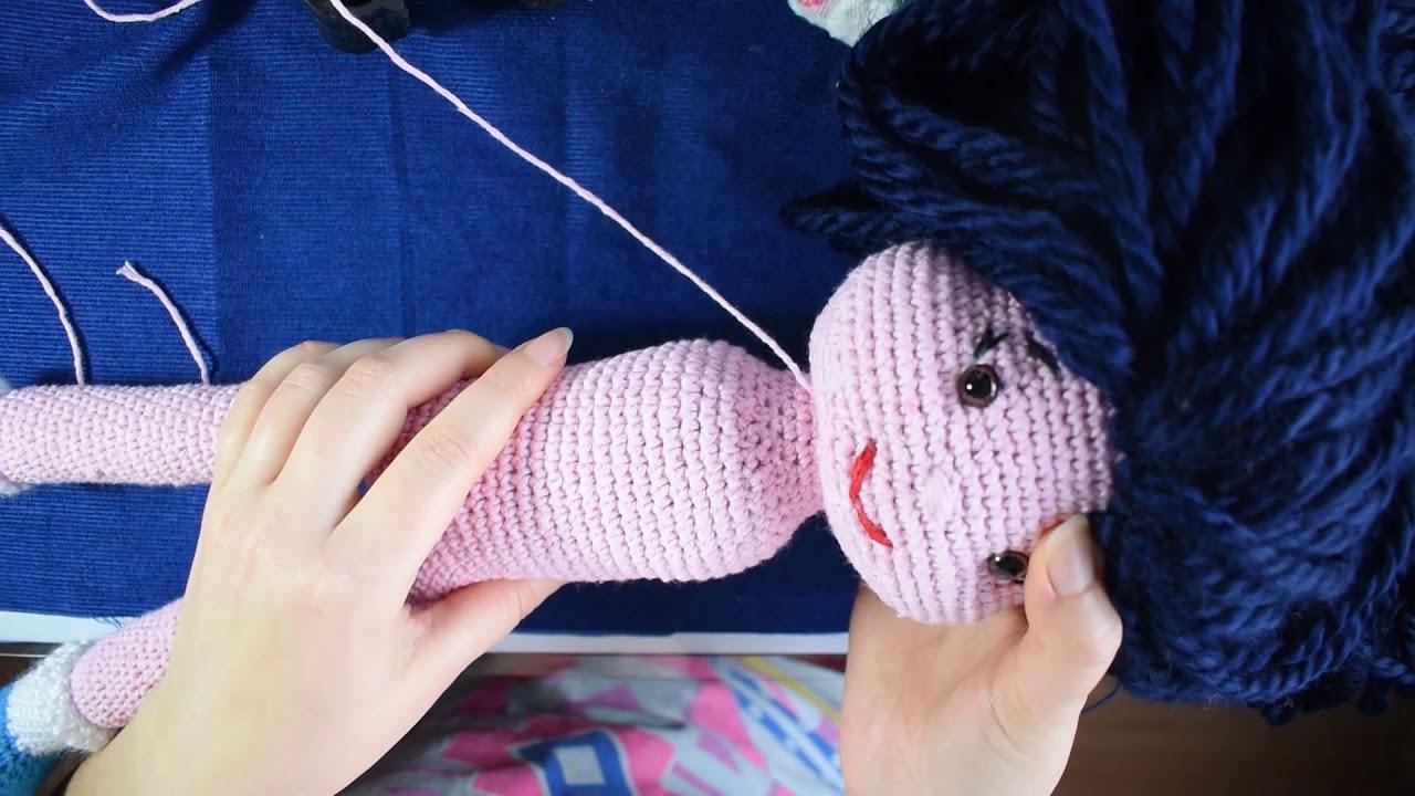 Amigurumi tombik bebek diz ve bacak yapımı. . - YouTube | 720x1280