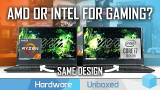 Ryzen 4000 vs Intel 10th-gen Same Laptop Gaming Battle feat. XMG Core 15