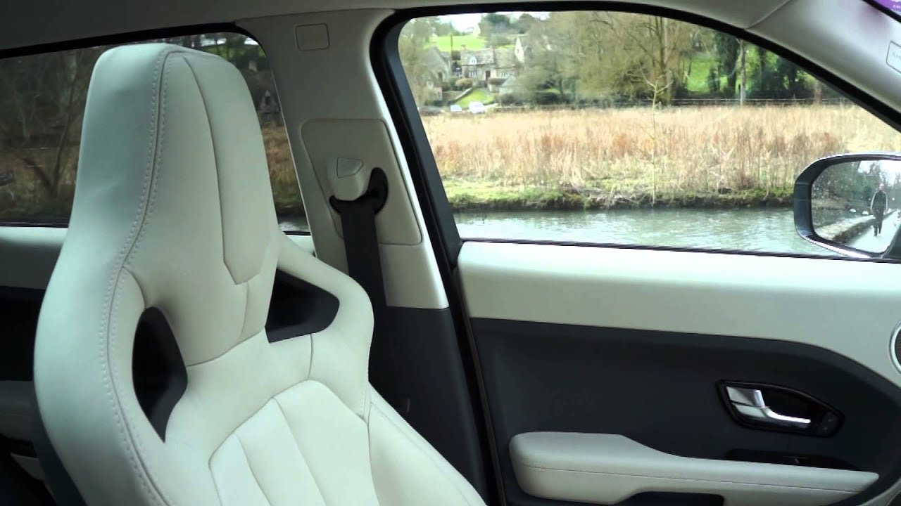 Range rover evoque accolade ivory lunar oxford leather - Range rover with red leather interior ...