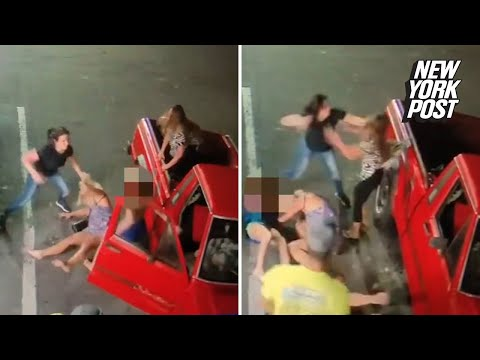 Girl gets beat and starts leaking from YouTube · Duration:  1 minutes 1 seconds