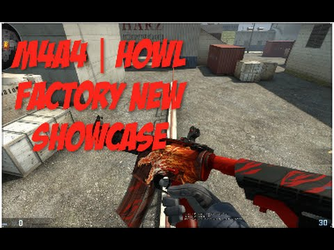 CSGO Showcase- M4A4 | Howl (Factory New) (Gameplay)