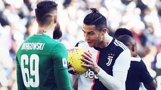 Cristiano Ronaldo's perfect response to the Fiorentina goalkeeper's provocation | Oh My Goal