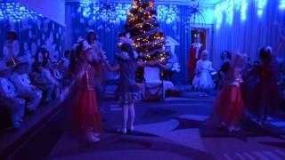 Новогодний танец звездочек в детском саду № 70 Кременчуг