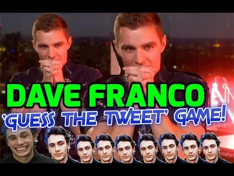 Nerve: Dave Franco or James Franco? Dave plays the 'Guess The Tweet' game!