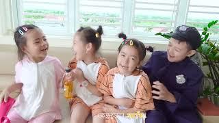 Policeman Keep Us Safe Song | 동요와 아이 노래 | 어린이 교육 | SuperHero Kids