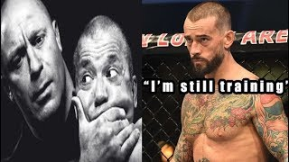 CM Punk talks a possible return to UFC, commentating and not loving wrestling on UFC Unfiltered