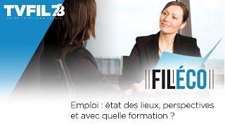Fil-Eco – Emploi : état des lieux, perspectives et avec quelle formation ?