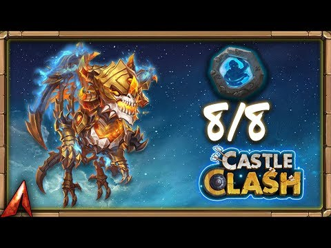 8/8 BULWARK SKELETICA! Better Than 8/8 Scorch?! Castle Clash