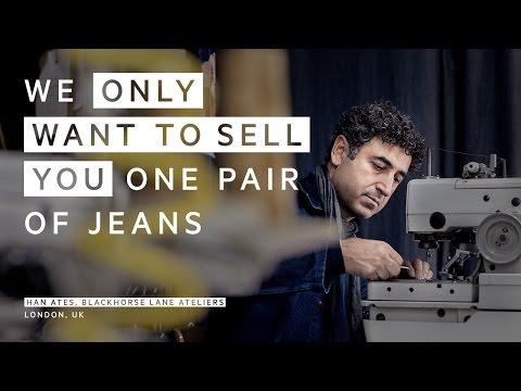Han Ates & Blackhorse Lane Ateliers: 'one pair of jeans'