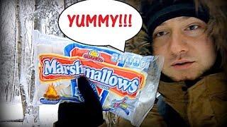 VLOG: жарим #МАРШМЕЛЛОУ #MARSHMALLOW