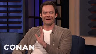 Bill Hader's Terrible Trip To The Bathroom - CONAN on TBS