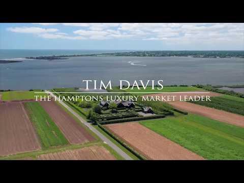 Listowel: Exquisite Mecox Bay Waterfront Estate, Bridgehampton - Hamptons Luxury Market Leader