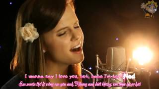 Gambar cover [Karaoke + Beat] Baby, I Love You - Tiffany Alvord (Original Song) Official Video