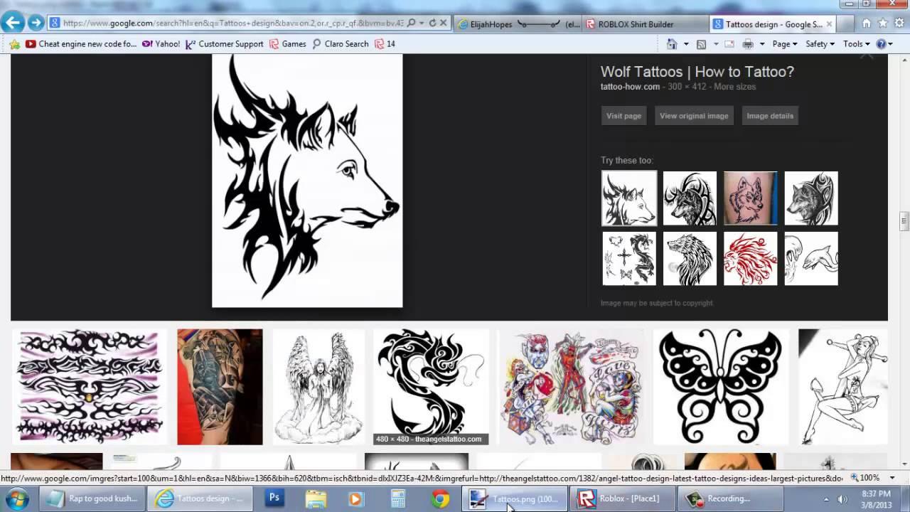Roblox Shirt Tattoo Id