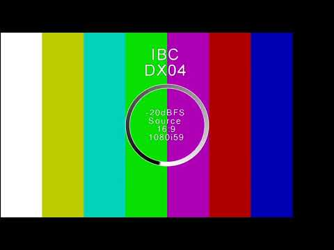 Olympic Broadcasting Services(OBS) IBC DX04 Test Pattern