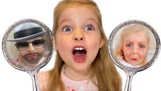 Лиза и магические зеркала меняющие внешность