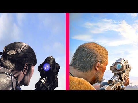 Gears of War 4 Gun Sounds vs Gears of War 1