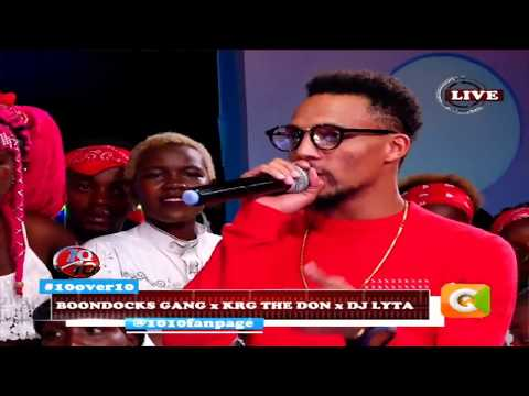 10 OVER 10 | Boondocks gang ,KRG The Don and DJ Lyta are on fire on the ten
