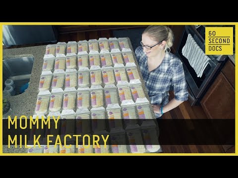 Mommy Milk Factory   Breast Milk Donor //  60 Second Docs