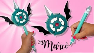 ⭐DIY Marco's Wand with Surprise || STAR VS THE FORCES OF EVIL ⭐