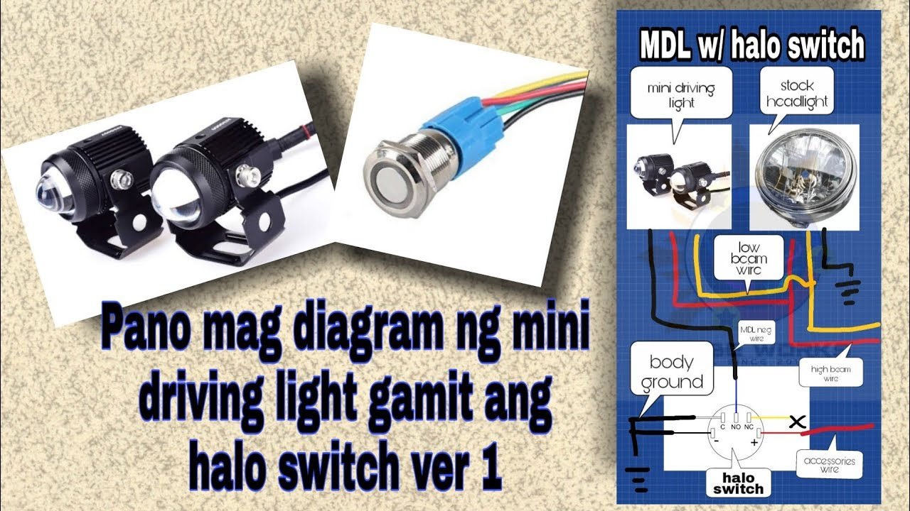 Driving Light Wiring Diagram With Relay from i.ytimg.com