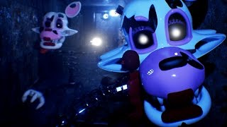 WILLIAM AFTON HUNTED BY FULL BODY MANGLE || FNAF Lost and Found (FREE ROAM Five Nights at Freddys)