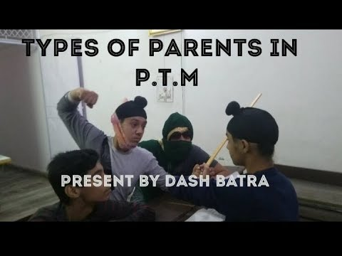 Types of people in PTM | dash batra