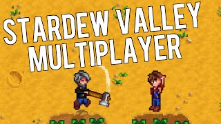 Stardew Valley - Multiplayer Gameplay in Update 1.0 (Multiplayer Mod)