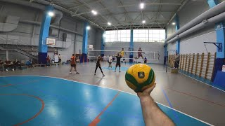 First Person Volleyball Tournament Amateur | Full Championship «Bright Fit» | 4 Games | #96 episode