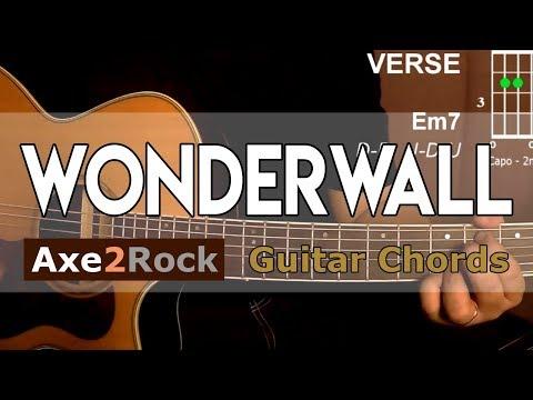 Wonderwall Guitar Chords Oasis