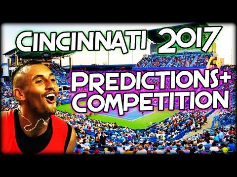 ATP Masters Cincinnati 2017 - Predictions and Competition