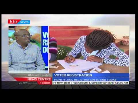 Mule Musau-Elog and Jack Tumwa former ECK Commissioner on IEBC registration