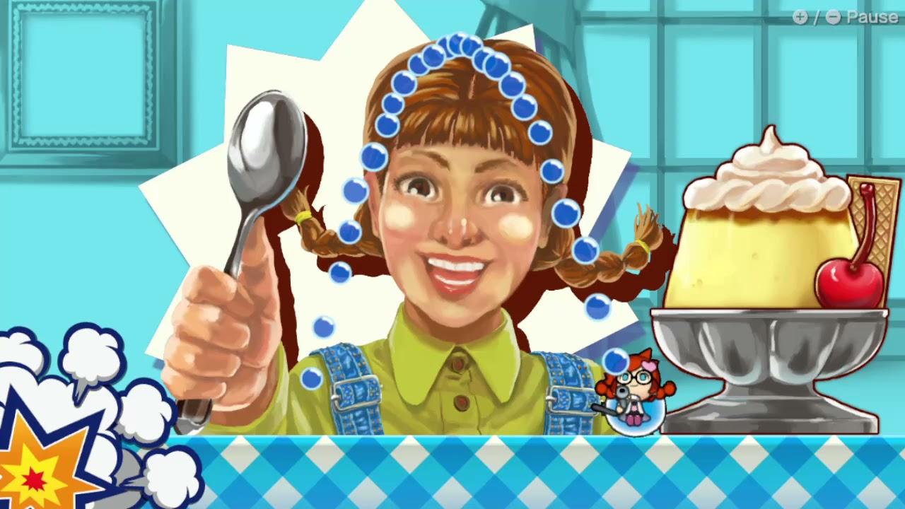 Penny - Food - Dessert Defender 999 - WarioWare Get It Together