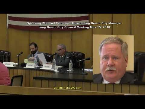 Long Beach City Council City Manager Update 05/15/18