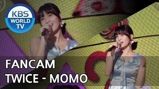 [FOCUSED]TWICE's MOMO - What is Love? [Music Bank / 2018.04.20]