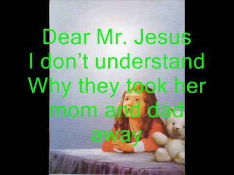 Dear Mr Jesus - Ray Boltz - With Lyrics