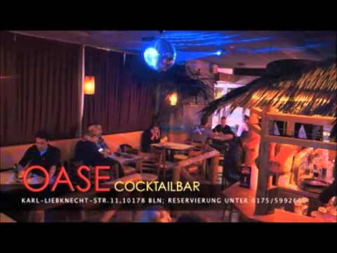cocktailbar oase berlin video by adash design youtube. Black Bedroom Furniture Sets. Home Design Ideas