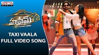 Download Taxi Vaala Full Video Song   Supreme Full Video Songs    Sai Dharam Tej, Raashi Khanna
