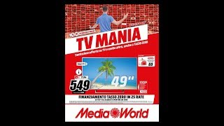 MEDIA WORLD VOLANTINO  OFFERTE VALIDE DAL 21 AL 30 MAGGIO 2018